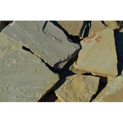 Песчаник желтый плоский