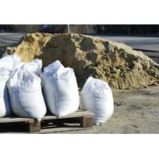 Песок мытый в мешках