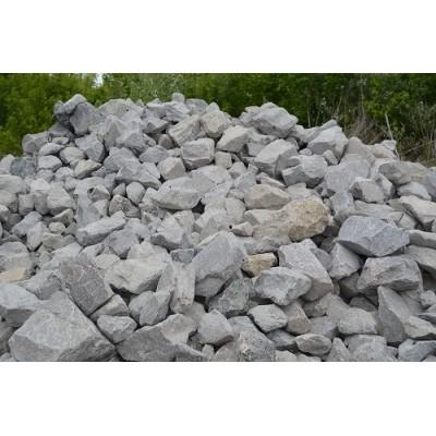 Камень бутовый серый фр. 100*500 мм